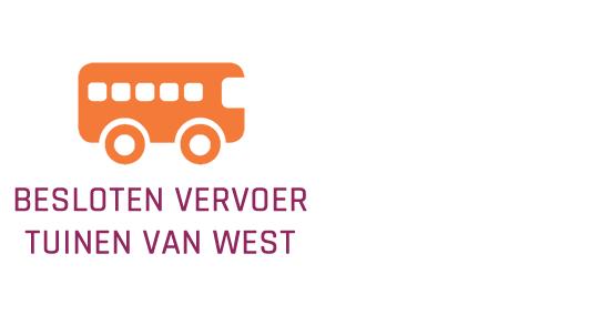 Besloten vervoer Tuinen van West
